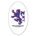 Lion - MacGregor of Glengyle Sticker (Oval 10 pk)