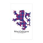 Lion - MacGregor of Glengyle Sticker (Rectangle 10