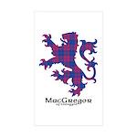 Lion - MacGregor of Glengyle Sticker (Rectangle 50