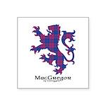 Lion - MacGregor of Glengyle Square Sticker 3