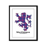 Lion - MacGregor of Glengyle Framed Panel Print