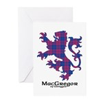 Lion - MacGregor of Glengyle Greeting Cards (Pk of