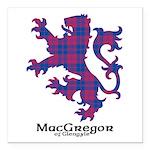 Lion - MacGregor of Glengyle Square Car Magnet 3