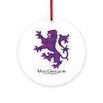 Lion - MacGregor of Glengyle Ornament (Round)