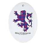 Lion - MacGregor of Glengyle Ornament (Oval)