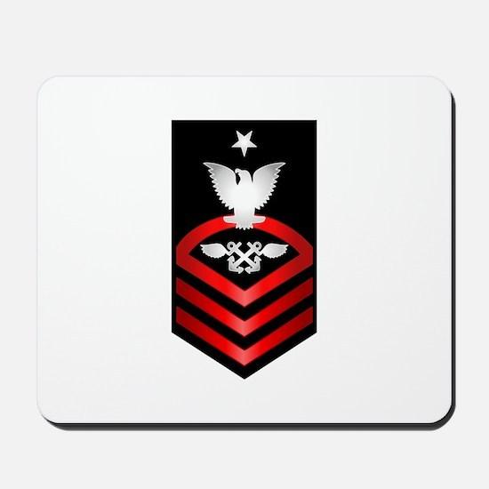 Navy Senior Chief Aviation Boatswain Mousepad