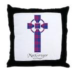 Cross - MacGregor of Glengyle Throw Pillow