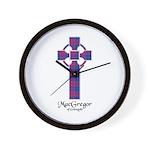 Cross - MacGregor of Glengyle Wall Clock