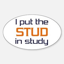 Stud in Study Decal