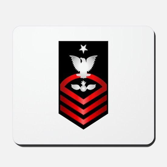 Navy Senior Chief Aviation Ordnanceman Mousepad