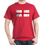 England English Flag Red T-Shirt