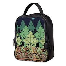 Vintage Ornamental Neoprene Lunch Bag