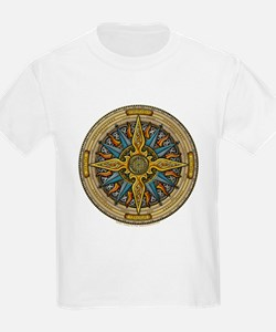 Celtic Compass Kids T-Shirt
