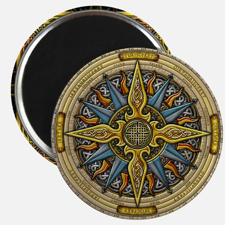 Celtic Compass Magnet