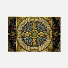 Celtic Compass Rectangle Magnet