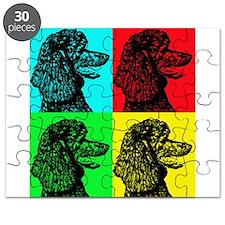 Poodle Pop Art Puzzle