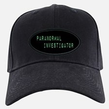 Paranormal Investigator (Label) Baseball Hat