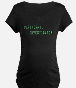 Paranormal Investigator (Label) T-Shirt