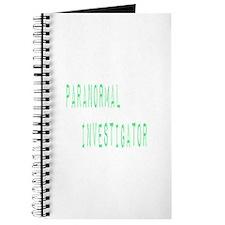 Paranormal Investigator (Label) Journal
