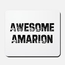 Awesome Amarion Mousepad