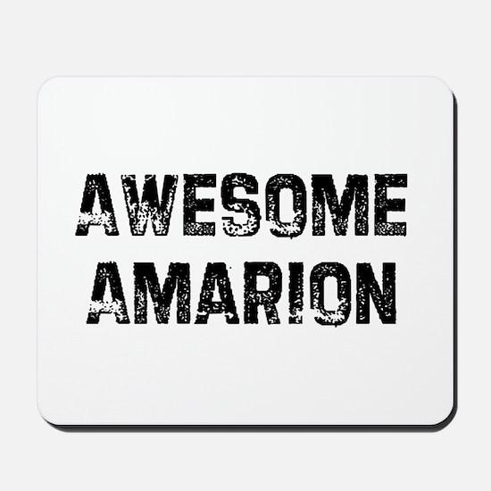 Awesome Amarion Mousepad