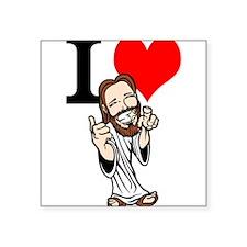 I Love Jesus Sticker