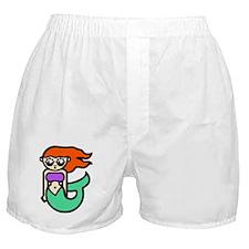 Sexy Cartoon Mermaid Boxer Shorts
