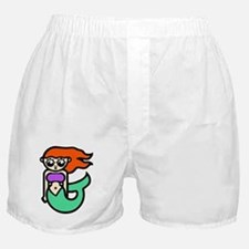 Sexy Cartoon Mermaid Boxer Shorts