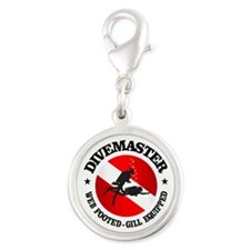 Divemaster (Round) Charms