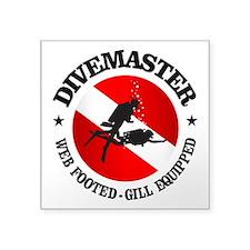 Divemaster (Round) Sticker