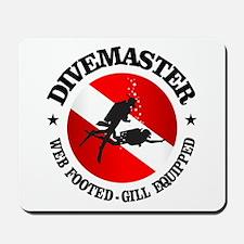 Divemaster (Round) Mousepad