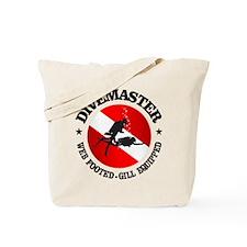 Divemaster (Round) Tote Bag