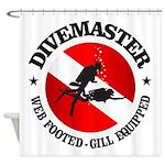 Divemaster (Round) Shower Curtain