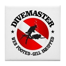Divemaster (Round) Tile Coaster