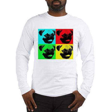 Pop Pug Long Sleeve T-Shirt