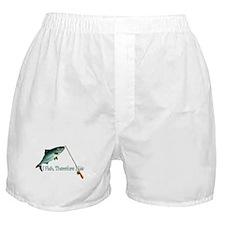 Fisherman Shirt Boxer Shorts