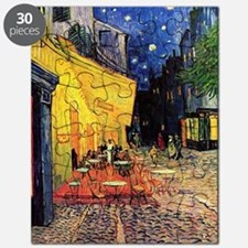 Cafe Terrace at Night by Vincent van Gogh Puzzle