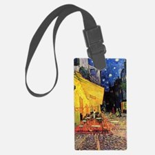 Cafe Terrace at Night by Vincent Luggage Tag