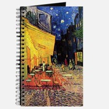 Cafe Terrace at Night by Vincent van Gogh Journal