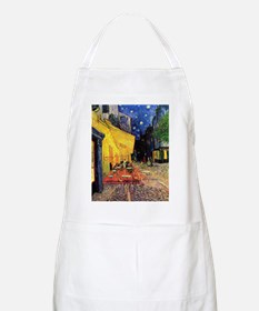 Cafe Terrace at Night by Vincent van Gogh Apron
