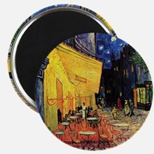 Cafe Terrace at Night by Vincent van Gogh Magnet