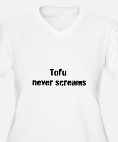 Tofu Never Screams T-Shirt