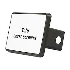 Tofu Never Screams Hitch Cover