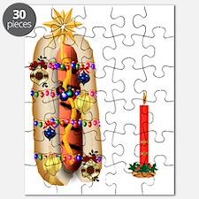 Christmas Hotdog Puzzle