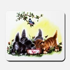 MEOW TIME KITTENS Mousepad