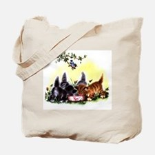 MEOW TIME KITTENS Tote Bag
