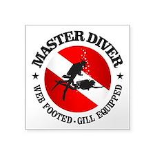 Master Diver (Round) Sticker