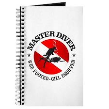 Master Diver (Round) Journal