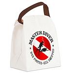 Master Diver (Round) Canvas Lunch Bag