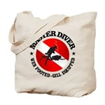 Master Diver (Round) Tote Bag